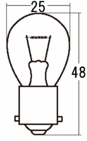 スタンレー A4517 *6V17W S25 10ケ (1箱10ケ入)