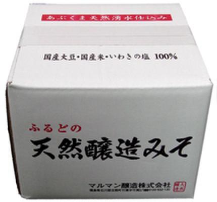 天然醸造味噌 5kgダンボール