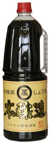 マルマン 本醸造しょうゆ1.8L