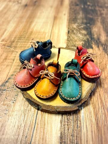 ミニチュア革靴 革:数量限定プエブロベリー