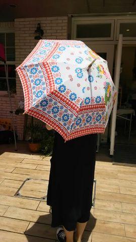 日傘 型紙レシピ+骨組みのセット