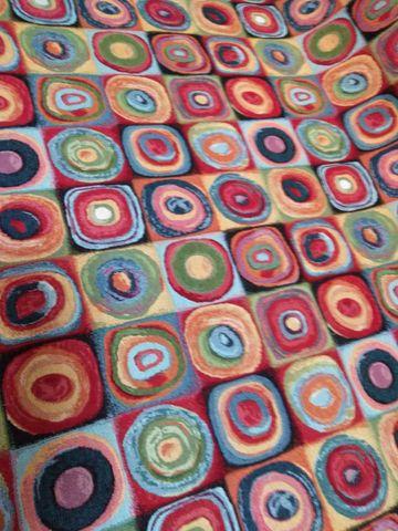 ゴブラン織り生地 ぐるぐる柄50センチ