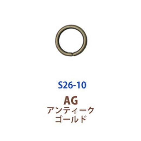 丸カン10mm 2色あり各380円