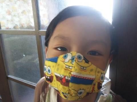 立体マスク型紙