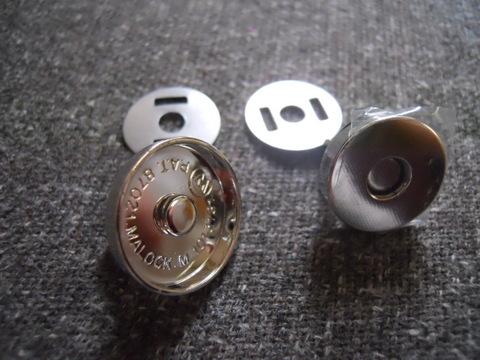 マグネットボタン キャップ式18mm10個