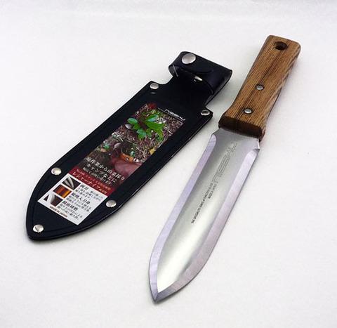 No.640 ステンレス製 レジャーナイフ  両刃型