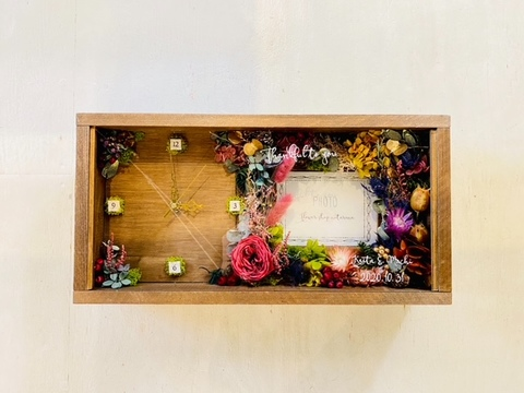 Flowerclock & photoframe 1-3