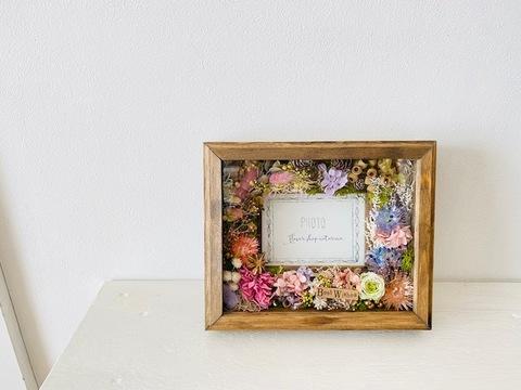 Flower frame ガラス付き