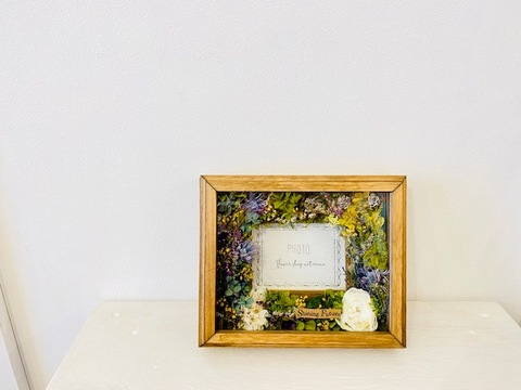 Flower frame ガラス付き 2