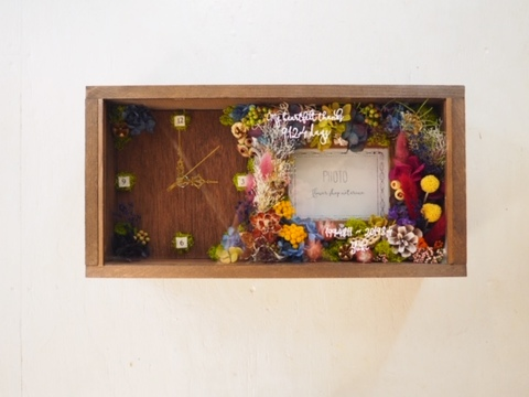Flowerclock & photoframe 1-1