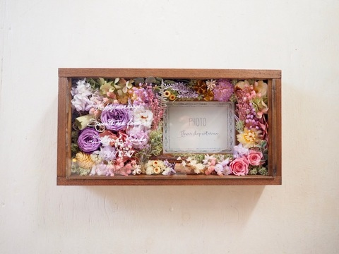 Glassmessage photoframe 1-1