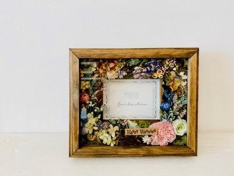 Flower frame ガラス付き 3