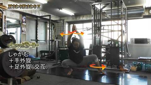 肩まわり股まわりⅡ( ショート版)(Y210410UP)
