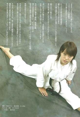 JK Fan 空手道マガジン 2005年12月号 ハイキックにも効く!!「開脚のためのハーモニアス・ストレッチ」