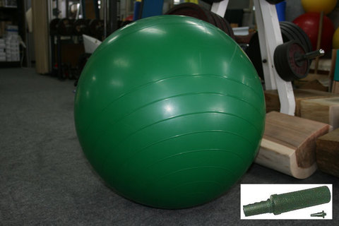 バランスボール大(GN) 65cm ポンプ付セット