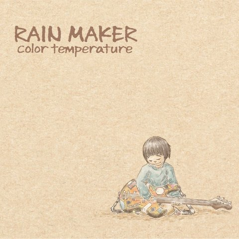 "RAINMAKER / 5th ALBUM ""color temperature"""