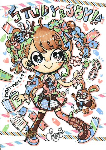カラー原画☆STUDY