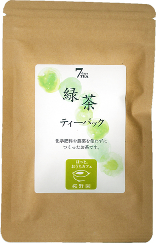 7days TEA 緑茶ティーパック