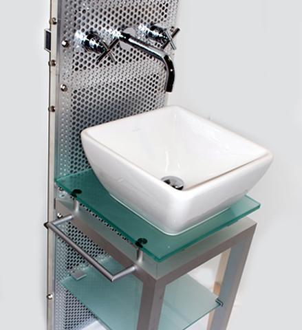 NV71870001 スクエア 洗面器・家具セット