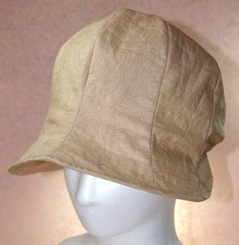 ★柿渋染和紙 帽子