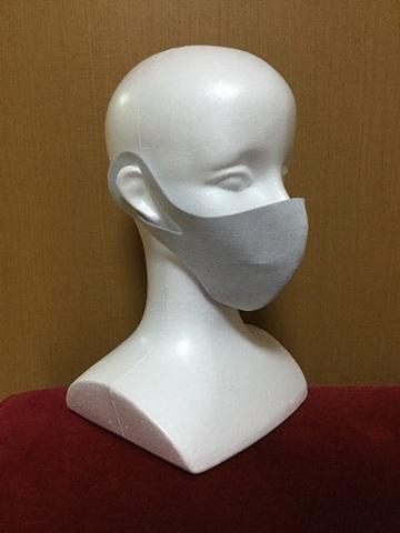 戦う備長炭マスク ★備長炭遠赤外線放射マスク ・一体型 (2枚入り) 手洗いOK(在庫あり)
