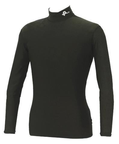 アンダーシャツ(黒)フィットタイプ