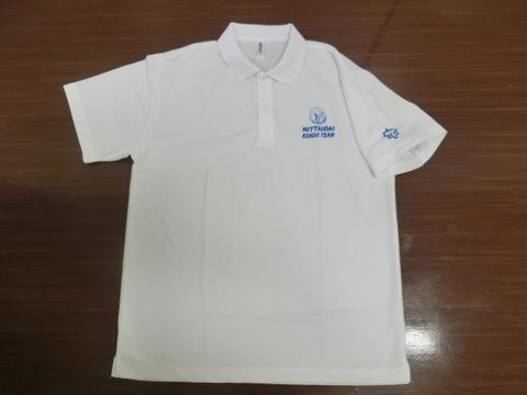 部活動ポロシャツ・白(受注生産)