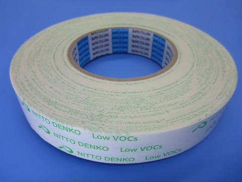 吸音材の固定に!!環境配慮型 低VOC両面テープ