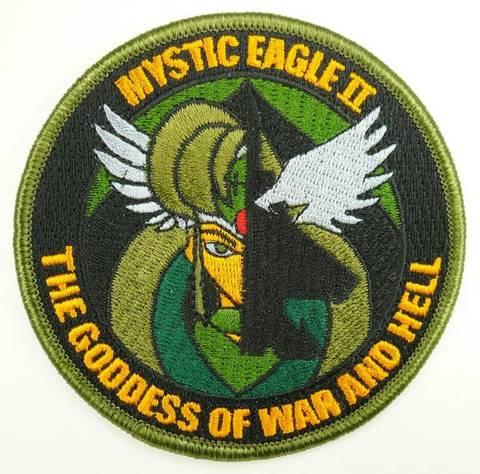 戦競 F-15部門 第204飛行隊 ミスティックイーグルⅡパッチ ワルキューレ