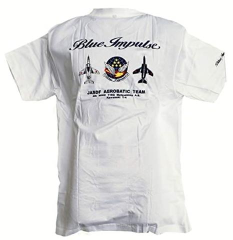★ブルーインパルス★ 定番Classic Tシャツ 爽やかホワイト 同デザインの Kid'用も有ります!