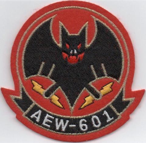 三沢基地 警戒航空隊AEW 601飛行隊 隊員パッチ