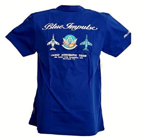 ★ブルーインパルス★ 定番 ClassicTシャツ  ロイヤルブルー 同デザインの Kid's用 も有ります!