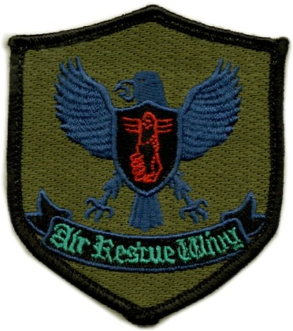 航空自衛隊 航空救難団 メインパッチ ロービジ
