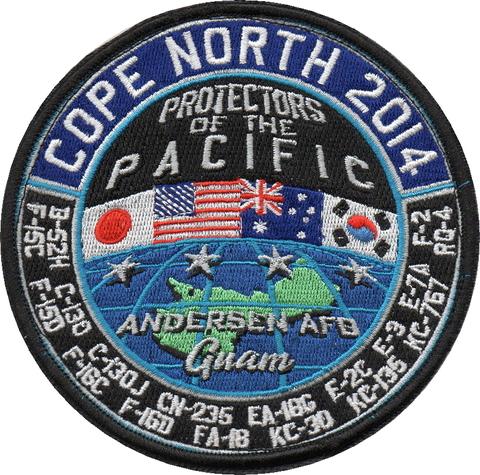 コープノースグアム2014年参加パッチ(米軍)