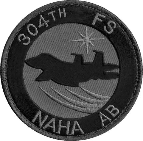 那覇9th-Wing First304SQ F-15 ロービジパッチ
