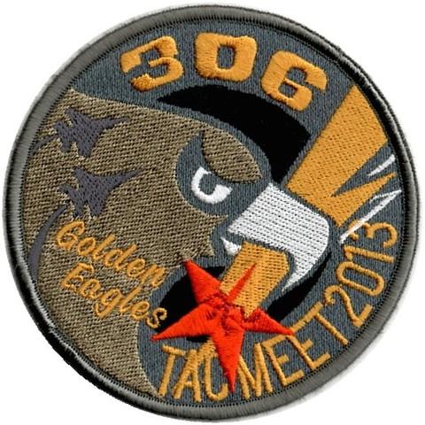 小松基地 第306飛行隊 戦競 パッチ