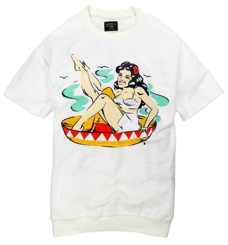 MEXICAN GIRL  PILE TEE