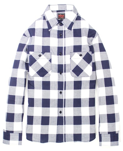 BLOCK CHECK L/S SHIRTS