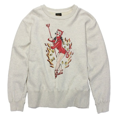 DEVIL WOMAN SWEAT SHIRT
