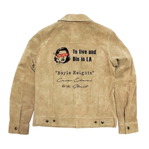 TYPE 3 SUEDE LEATHER JACKET