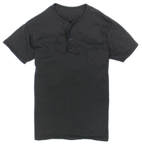 HENLEY POCKET TEE