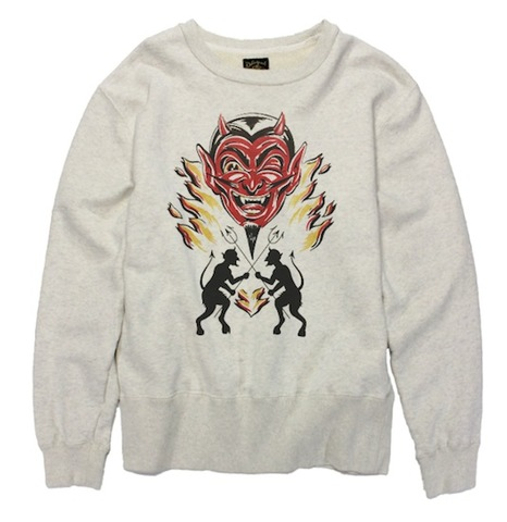 DEVIL CREW SWEAT SHIRT