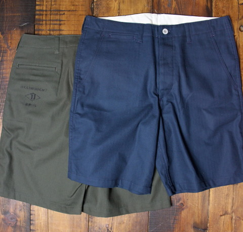 HERRINGBONE WORK SHORTS