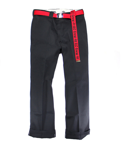 213 WORK PANTS with WEB BELT