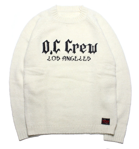 BIG LOGO CREW NECK KNIT