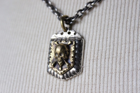 """MEXICAN SKULL"" NECKLESS"