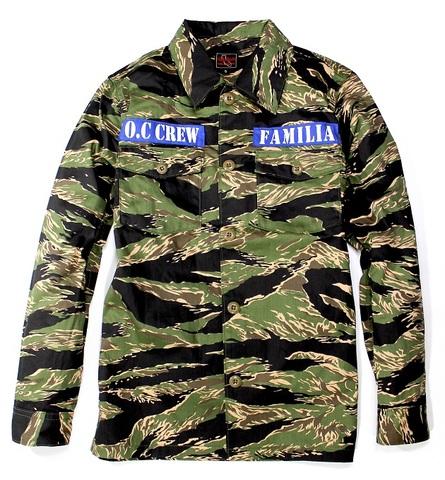 O.C FAMILIA ARMY SHIRTS