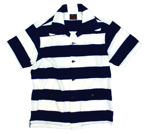 STRIPED PILE SHIRT