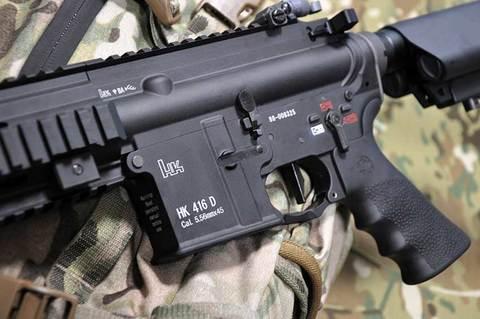 HK416コンプリート(マルイM4 MWS GBBベース)