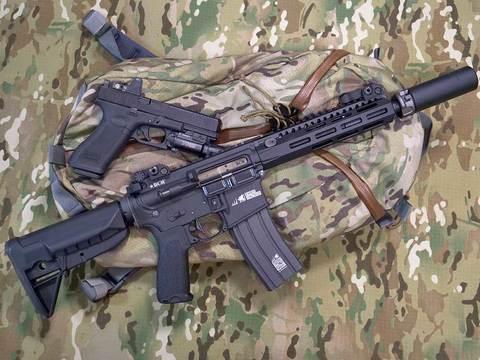 【即納】BCM MK2アッパーSBR ライフル